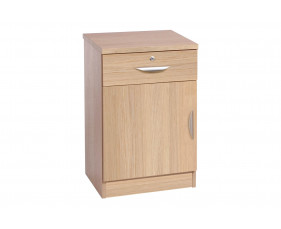Small Office Deep Cupboard With Single Drawer