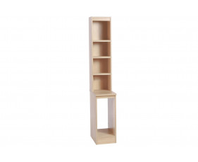Small Office CPU Computer Tower Storage Unit With Hutch Bookcase