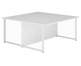 Illusion Hooped Leg Rectangular Back 2 Back Desk