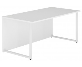 Illusion Hooped Leg Rectangular Desk