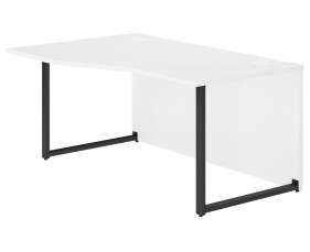 Delgado Hooped Leg Left Hand Wave Desk