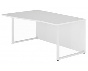 Solero Hooped Leg Left Hand Wave Desk