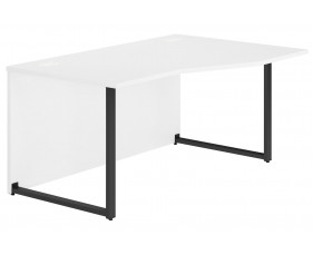 Delgado Hooped Leg Right Hand Wave Desk