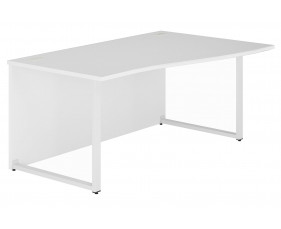 Solero Hooped Leg Right Hand Wave Desk