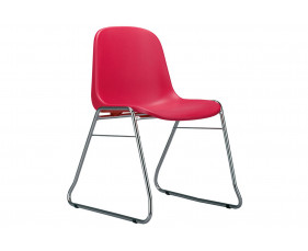 Pack Of 4 Reagan Skid Base Chairs