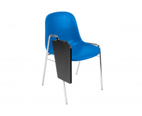 Pack Of 4 Reagan Side Chairs With Writing Tablet