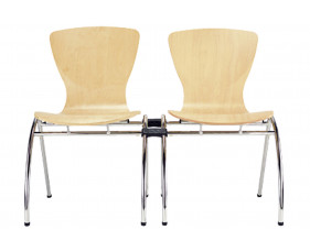 Pack of 4 Serena Linking Side Chairs