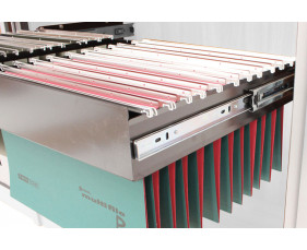 Roll out filing frame for solero tambour cupboard