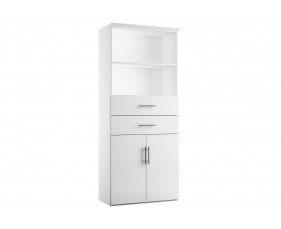 Illusion combination cupboard type 3 white gloss