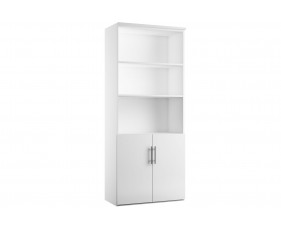 Illusion combination cupboard type 2 white gloss