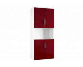 Next-Day Illusion Combination Cupboard Type 5 Burgundy Gloss