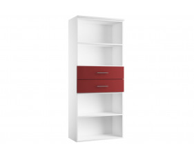 Next-Day Illusion Combination Cupboard Type 1 Burgundy Gloss