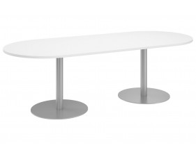 Camino D End Meeting Table (White)