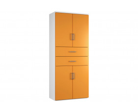 Next-Day Solero Cupboard Combination 6 (Orange)
