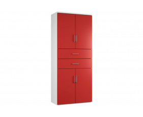 Campos Cupboard Combination 6 (Red)