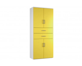 Solero Cupboard Combination 6 (Yellow)