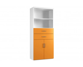 Next-Day Solero Cupboard Combination 3 (Orange)