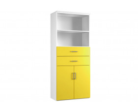 Solero Cupboard Combination 3 (Yellow)