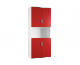 Campos Cupboard Combination 5 (Red)