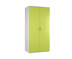 Campos 4 Shelf Cupboard (Green)