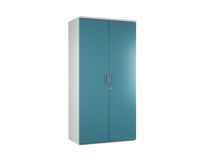 Campos 4 Shelf Cupboard (Light Blue)