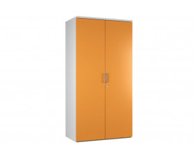 Solero 4 Shelf Cupboard (Orange)