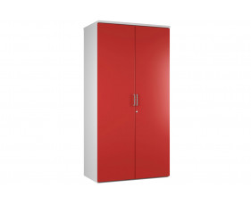 Campos 4 Shelf Cupboard (Red)
