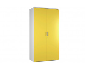 Campos 4 Shelf Cupboard (Yellow)