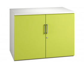 Solero 1 Shelf Cupboard (Green)