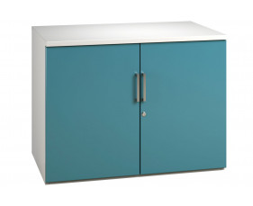 Campos 1 Shelf Cupboard (Light Blue)
