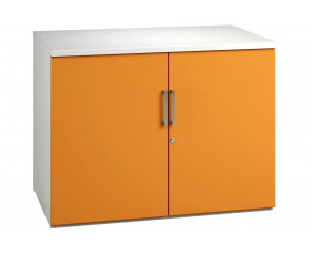 Solero 1 Shelf Cupboard (Orange)