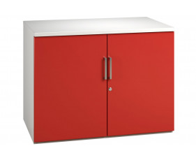 Campos 1 Shelf Cupboard (Red)