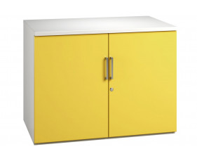 Campos 1 Shelf Cupboard (Yellow)