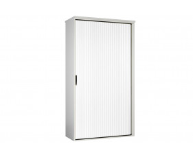 Campos Tall Tambour Unit (White)