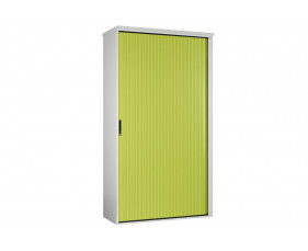 Solero Tall Tambour Unit (Green)