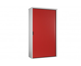 Next-Day Solero Tall Tambour Unit (Red)