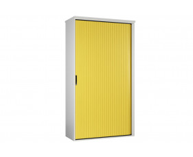 Solero Tall Tambour Unit (Yellow)