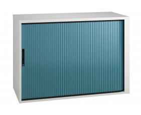 Campos Low Tambour Unit (Light Blue)