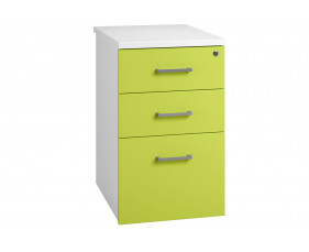 Solero Desk High Pedestal (Green)