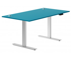 Campos Sit & Stand Desk (Light Blue)