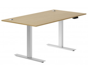 Lozano Sit & Stand Desk (Natural Oak)