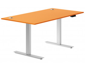 Solero Sit & Stand Desk (Orange)