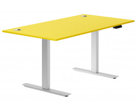 Solero Sit & Stand desk (yellow)