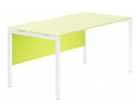 Campos Modesty Panel For Single Bench Desks (Green)