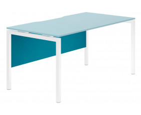 Campos Modesty Panel For Single Bench Desks (Light Blue)