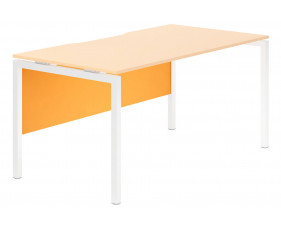 Campos Modesty Panel For Single Bench Desks (Orange)