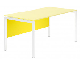 Campos Modesty Panel For Single Bench Desks (Yellow)