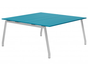 Campos A-Frame 6-8 Person Meeting Table (Light Blue)