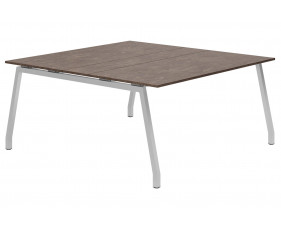 Lasso A-Frame 6-8 Person Meeting Table (Pitted Steel)