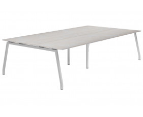 Lasso A-Frame 10-12 Person Meeting Table (Concrete)